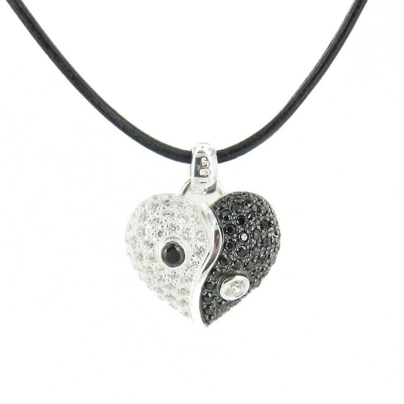 Heartbreaker by Drachenfels Ladies silver pendant necklace LD HT 42