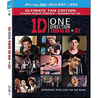 One Direction: This Is Us [BLU-RAY] USA import