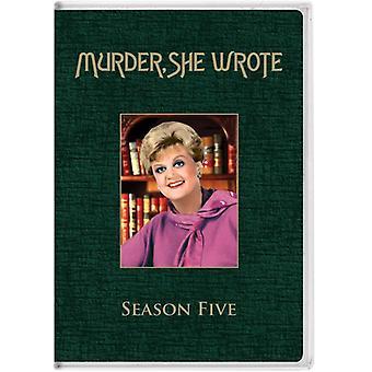 Murder She Wrote: Season 5 [DVD] USA import