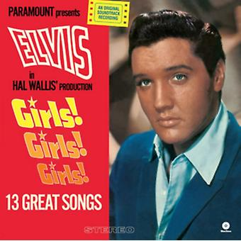 Girls! Girls! Girls! + 2 bonus tracks (180g) [VINYL] by Elvis Presley