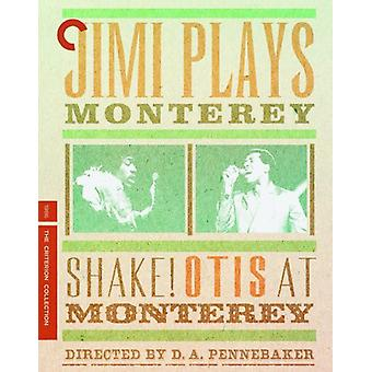 Jimi Plays Monterey & Shake! Otis at Monterey [BLU-RAY] USA import