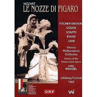 W.a. Mozart - importación de Estados Unidos Le Nozze Di Figaro [DVD]