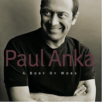 Paul Anka - import USA de carrosserie [CD]