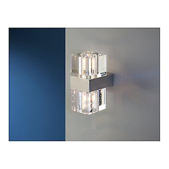 Schuller Cubic Wall Lamp, 2L G9