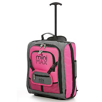 MiniMAX Childrens Suitcase with Backpack and Pouch - No Bear