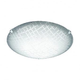 Eglo RICONTO Glass Ceiling Plate Light