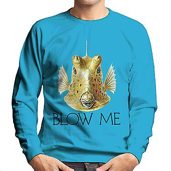 Blow Me Longhorn Cowfish Men's Sweatshirt