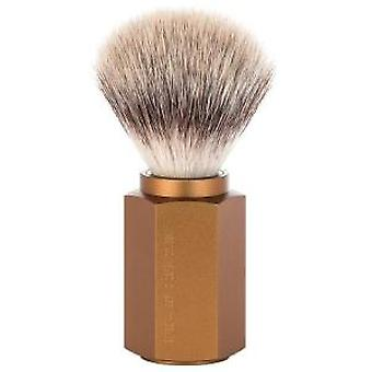 Muhle Sechseck Silvertip Fibre® Pinsel in Bronze-Finish