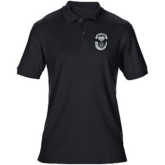 Somerset Light Infantry Embroidered Logo - Official British Army Mens Polo Shirt