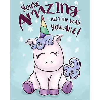 Unicorno incredibile Mini Poster