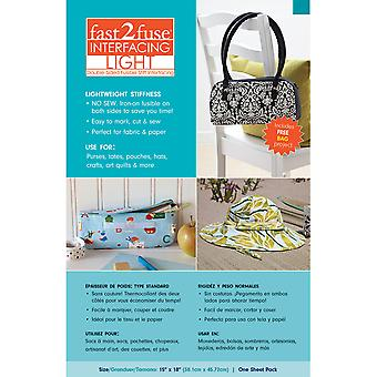 Fast2fuse Fusible Interfacing Light 15