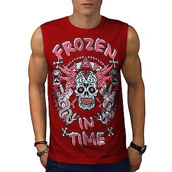 Eingefroren In der Zeit Dead Men RedSleeveless T-shirt | Wellcoda