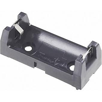 Battery tray 1x 2/3 AA Through-hole (L x W x H) 43 x 18 x 15 mm Keystone 1029