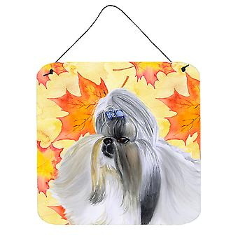 Carolines Treasures  BB9927DS66 Shih Tzu Fall Wall or Door Hanging Prints