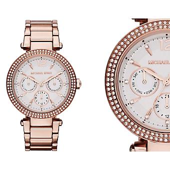 Michael Kors Ladies Watch Parker Crystal Stones MK5781