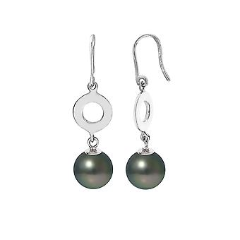Dangling earrings pearls of Tahiti and Silver 925/1000