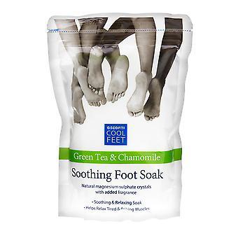 Escenti Cool Feet Green Tea & Chamomile Soothing Foot Soak