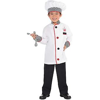 Amscan Chef Unisex Costume & Accessories (Babies and Children , Costumes)