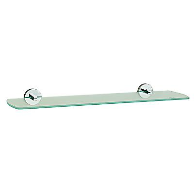Loft Glass Shelf - Polished Chrome LK347