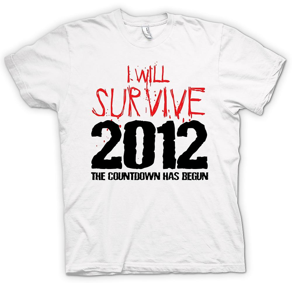 Womens T-shirt - 2012 I Will Survive Apocalypse End Of World