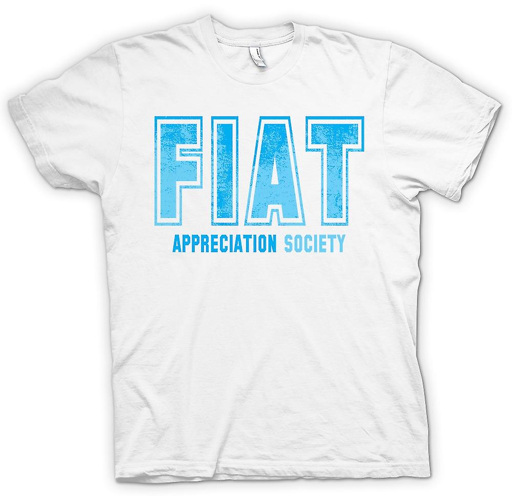 Womens T-shirt - Fiat Appreciation Society