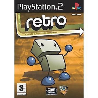 Retro (8 spil) (PS2)