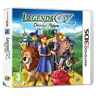 Legends of Oz - Dorothys Return (Nintendo 3DS)