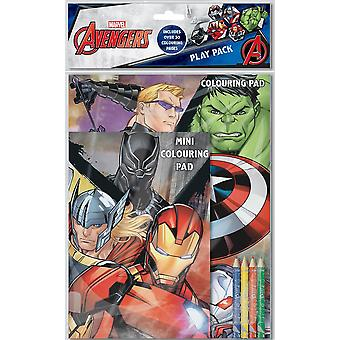 Marvel Avengers Boys Classic Comic Book Style Play Pack