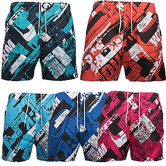 Men's skater of shorts beachwear Swimshorts of shorts swimsuit artwork print