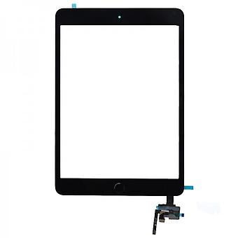 Touch screen display Home button IC chip for Apple iPad mini 3 + adhesive pad black
