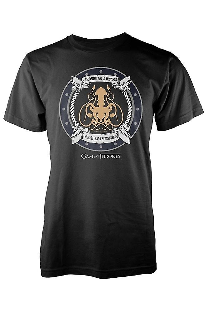 GAME OF THRONES - IRON BORN- T-Shirt Men's[S]