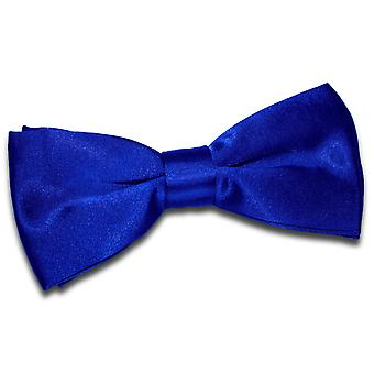 Royal Blue Plain Satin Pre-Tied Bow Tie