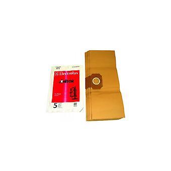 Electrolux papieren zak - Pack van 5 (E72B)