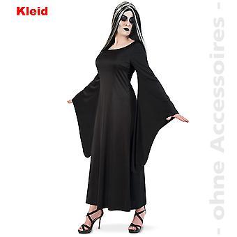 Vampirin Kostüm Damen Horror Mortina Gräfin Dracula Halloween Damenkostüm