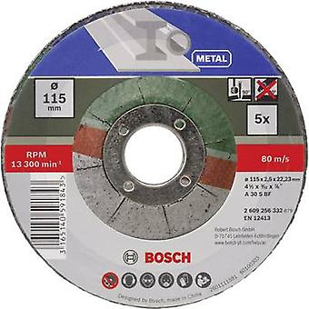 Disco da taglio (di off-set) 115 mm 22,23 mm/PC Bosch Accessori A 30 S BF 2609256332 5