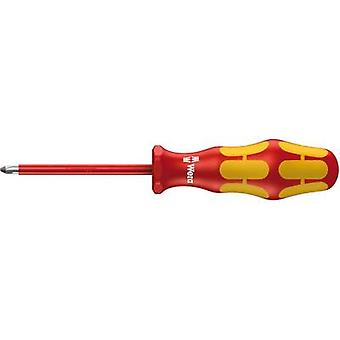 VDE Pillips screwdriver Wera 162 i PH 1 Blade length: 80 mm DIN ISO 8764-PH, DIN EN 60900
