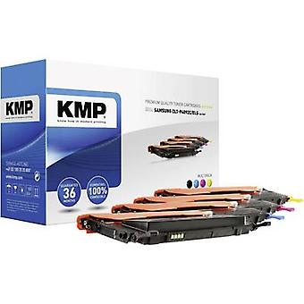 KMP Toner cartridge combo pack replaced Samsung CLT-P4092C, CLT-K4092S, CLT-C4092S, CLT-