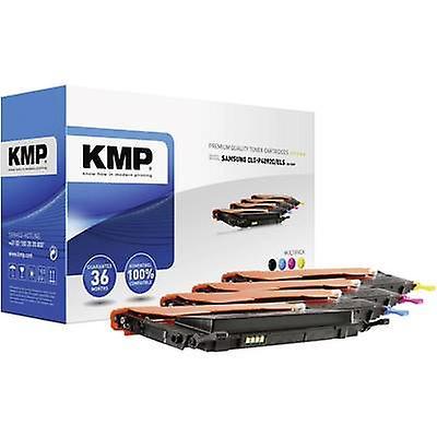 Pack de combo cartouche Toner KMP remplacé Samsung CLT-P4092C, CLT-K4092S, CLT-C4092S, CLT-M4092S, CLT-Y4092S Compatible noir, Cyan, Magenta, jaune 1500 pages