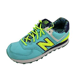 New Balance 574 Blue/Yellow Luau WL574ILA
