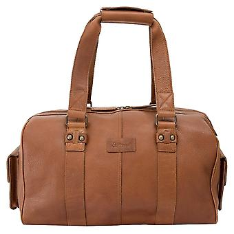 Ashwood Twickenham Medium Travel Leather Bag