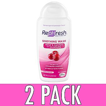 Rephresh soothing wash clean, cranberry complex, 8.5 oz