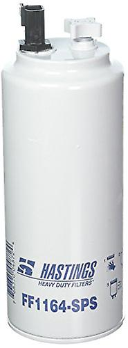 Hastings FF1164SPS Fuel and Water Separator Spin-On Filter with Drain Sensor Port and Reusable Sensor