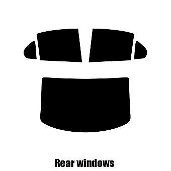 Pre cut window tint - Cadillac CTS 4-door Saloon - 2007 to 2013 - Rear windows