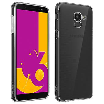 Back case + Screen Protector Tempered Glass for Samsung Galaxy J6 4Smarts