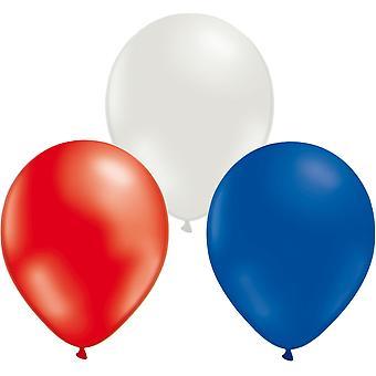 Ballongkombo 24-pack rouge/bleu/blanc