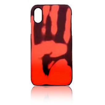 Hitze empfindliche Hülle für iPhone XS!