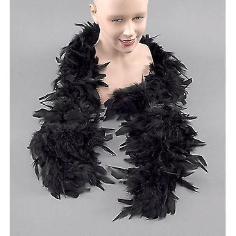 Feather Boa. Black.