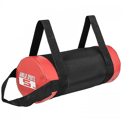 Fitness bag noir/rouge - Sac lest� 5kg