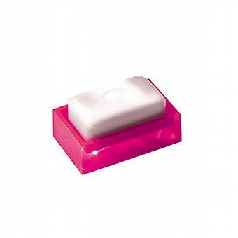 Regenbogen Soap Dish glänzend rosa RA11 76