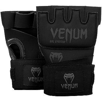 Venum Kontact Gel Wrap Handschuhe schwarz/schwarz